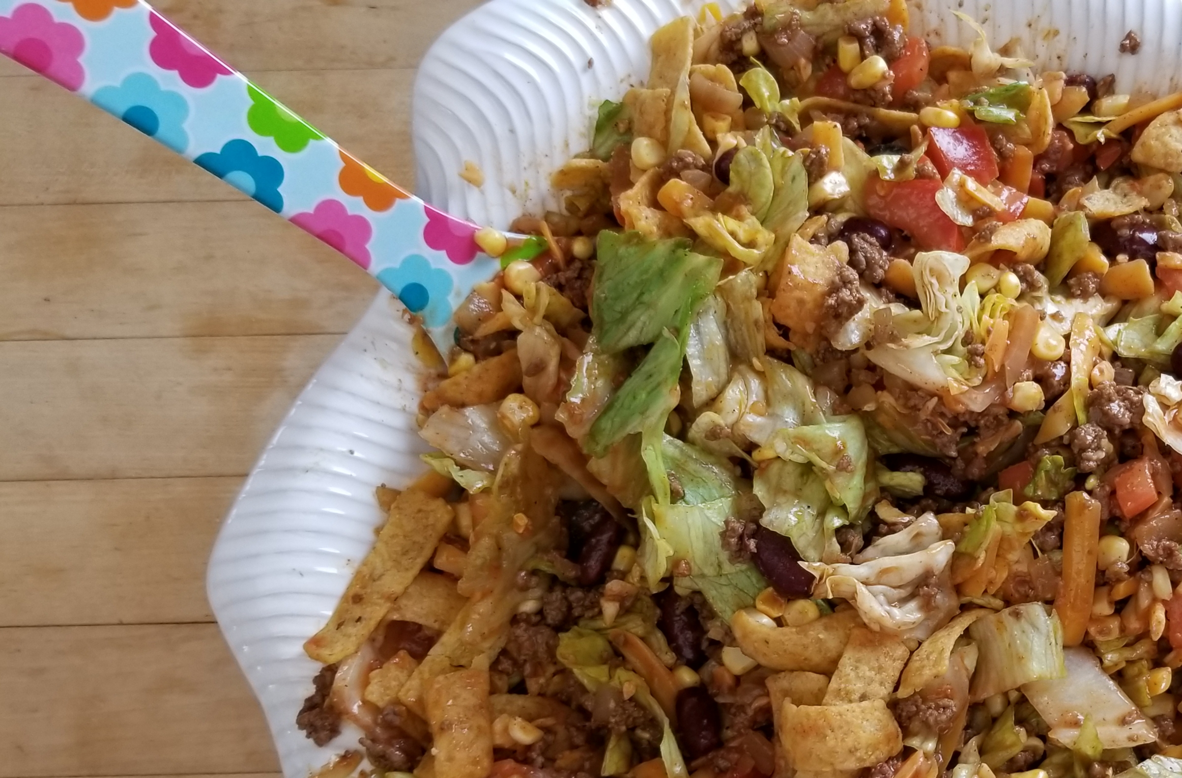 1980 S Taco Salad With Catalina Dressing Yesterkitchen